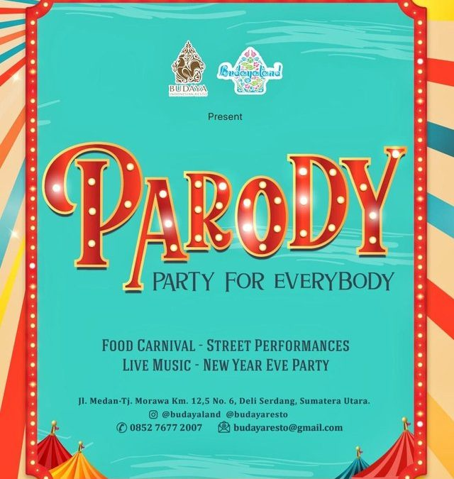 Parody –  New Year's Party ala Budayaland
