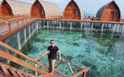 Pulau Tegal Mas, Liburan ala Maldive di Lampung