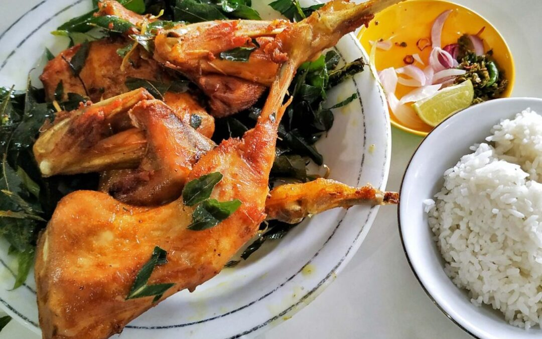 Ayam Pramugari, Ayam Gorengnya Aceh